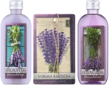 Bohemia Gifts & Cosmetics Lavender kosmetická sada VII.