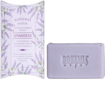 Bohemia Gifts & Cosmetics Lavender jabón con textura de crema con glicerina