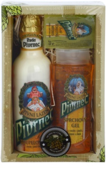 Bohemia Gifts & Cosmetics Beer set cosmetice III.