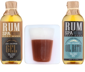 Bohemia Gifts & Cosmetics Rum Spa kit di cosmetici I.