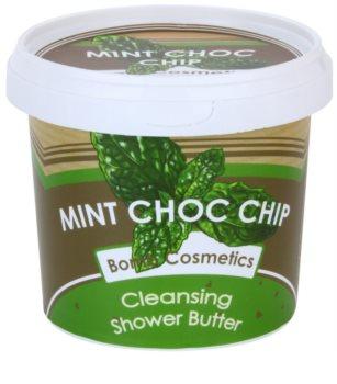 Bomb Cosmetics Mint Choc Chip manteca de ducha  para pieles secas