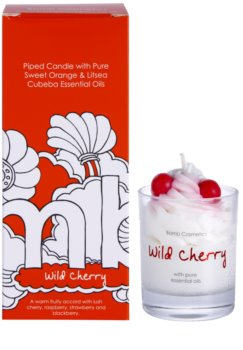 Bomb Cosmetics Piped Candle Wild Cherry vonná svíčka