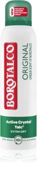 Borotalco Original αποσμητικό αντιιδρωτικό σε σπρέι για την αντιμετώπιση της υπερβολικής εφίδρωσης