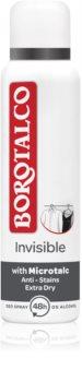 Borotalco Invisible Deodorant Spray to Treat Excessive Sweating