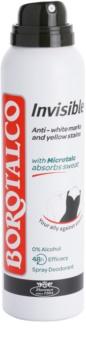 Borotalco Invisible deodorante spray contro la sudorazione eccessiva