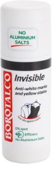 Borotalco Invisible tuhý dezodorant proti bielym a žltým škvrnám