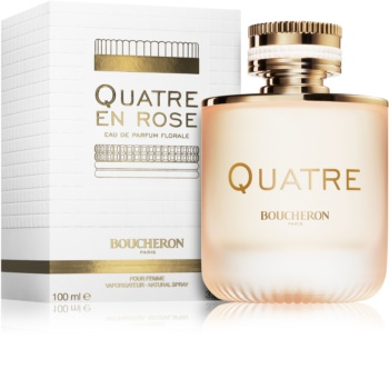 Boucheron Quatre En Rose Eau de Parfum for Women 100 ml