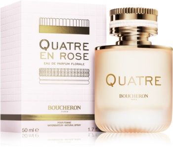 Boucheron Quatre En Rose Eau de Parfum for Women 50 ml