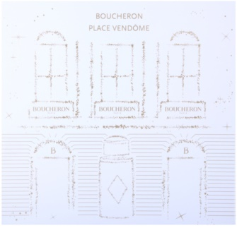 Boucheron Place Vendôme zestaw upominkowy II.