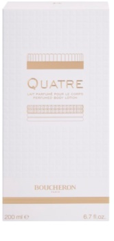 Boucheron Quatre leite corporal para mulheres 200 ml