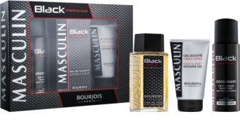 Bourjois Masculin Black Premium Geschenkset I.