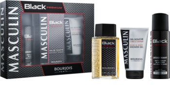 Bourjois Masculin Black Premium set cadou I.