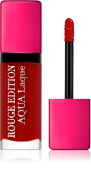 Bourjois Rouge Edition Aqua Laque hydratačný rúž s vysokým leskom
