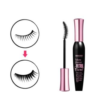 Bourjois Mascara Volume Glamour Ultra-Curl hosszabbító és göndörítő szempillaspirál
