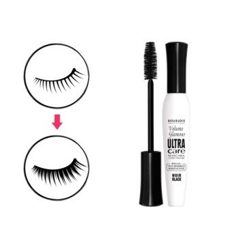 Bourjois Mascara Volume Glamour Ultra-Care szempillaspirál a dús pillákért