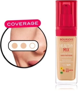 Bourjois Healthy Mix rozjasňující hydratační make-up 16h