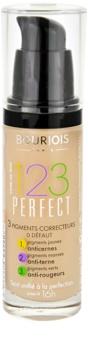 Bourjois 123 Perfect podkład w płynie nadający idealny wygląd
