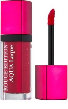 Bourjois Rouge Edition Aqua Laque Moisturizing Lipstick with High Gloss Effect