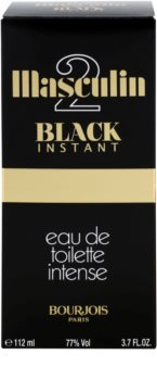 Bourjois Masculin Black Instant eau de toilette pour homme 112 ml