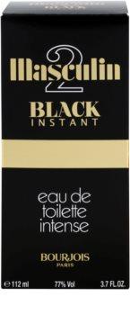 Bourjois Masculin Black Instant toaletní voda pro muže 112 ml