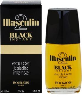 Bourjois Masculin Black Instant toaletná voda pre mužov 112 ml