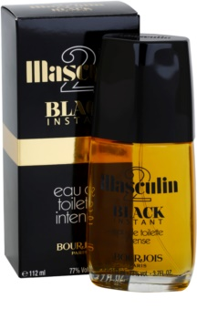 Bourjois Masculin Black Instant eau de toilette pentru barbati 112 ml