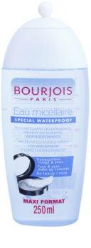 Bourjois Cleansers & Toners čistiaca micelárna voda na vodeodolný makeup