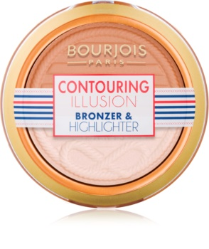 Bourjois Contouring Illusion bronzosító púder
