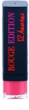 Bourjois Rouge Edition 12Hour стійка помада