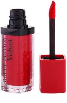 Bourjois Rouge Edition Velvet folyékony rúzs matt hatással