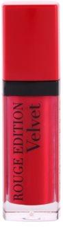 Bourjois Rouge Edition Velvet рідка помада з матуючим ефектом