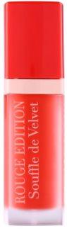 Bourjois Rouge Edition Souffle de Velvet рідка помада