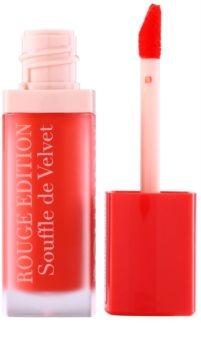 Bourjois Rouge Edition Souffle de Velvet rouge à lèvres liquide