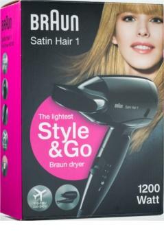Braun Satin Hair 1 Style & Go HD 130 phon per capelli da viaggio