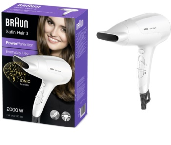 Braun Satin Hair 3 HD 380 uscator de par