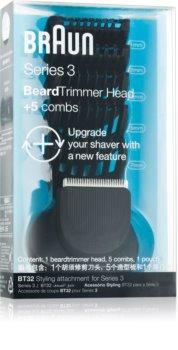 Braun Series 3  Shave&Style BT32 tête pour tondeuse + 5 sabots
