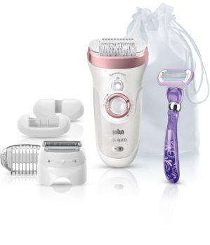 Braun Silk-épil 9 SensoSmart Wet & Dry 9/870 epilatore con sensore intelligente di pressione
