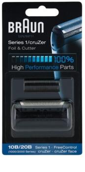 Braun Series 1  10B/20B CombiPack CruZer Foil & Cutter planžeta a strihacia lišta