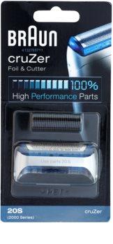 Braun Series 1  20S CombiPack cruZer  láminas de recambio + lote de cuchillas de recambio