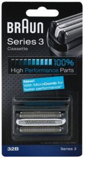 Braun Series 3  32B CombiPack Black lame de rasoir