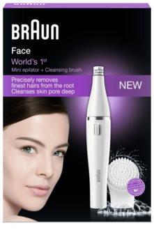 Braun Face  810 epilator s četkicom za čišćenje za lice
