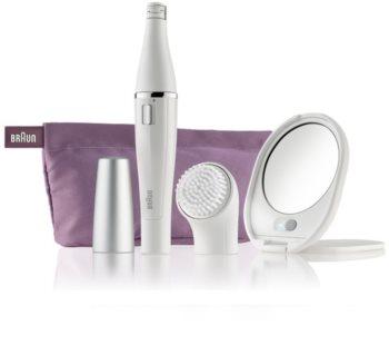 Braun Face  830 depilator z szczoteczką do czyszczenia do twarzy