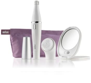Braun Face 830 συσκευή αποτρίχωσης με βουρτσάκι καθαρισμού Για το πρόσωπο