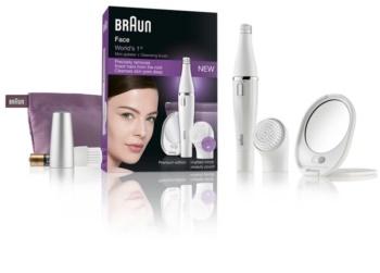 Braun Face  830 epilator s čistilno krtačko za obraz