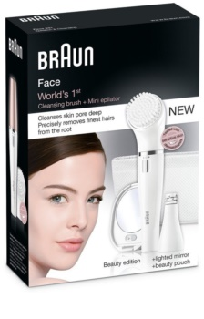 Braun Face  831 epilátor s čistiacim nástavcom na tvár