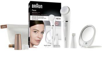 Braun Face  831 depiladora con cepillo de limpieza facial