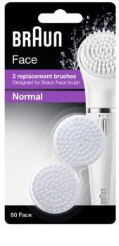 Braun Face  80 Normal náhradné hlavice 2 ks