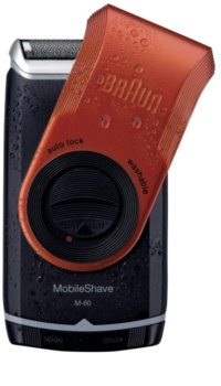 Braun MobileShave  M-60r maquinilla de afeitar de viaje