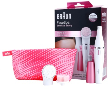 Braun Face  832s Sensitive Beauty epilátor az arcra