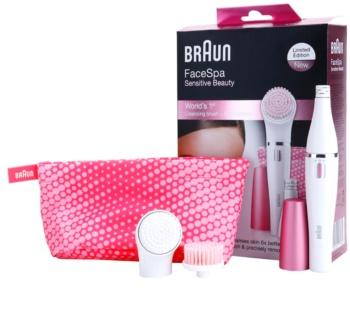 Braun Face 832s Sensitive Beauty Epilator  voor het Gezicht